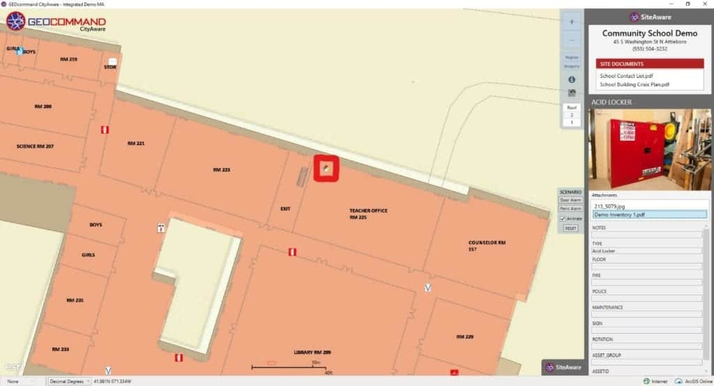 Digitizing Critical Building Information - GEOcommand Map