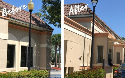 Congress Center, Boca Raton, FL: New LED Lights Fixtures